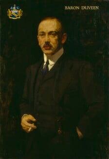 Joseph Duveen, Baron Duveen, by Isaac Israels, 1930s? - NPG 5840 - © National Portrait Gallery, London