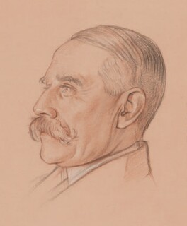 Sir Edward Elgar, Bt, by William Rothenstein, circa 1919 - NPG  - © National Portrait Gallery, London