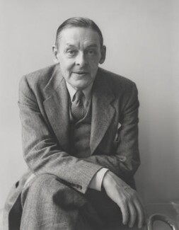 T.S. Eliot, by Kay Bell Reynal - NPG P205