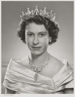 Queen Elizabeth II, by Yousuf Karsh - NPG P336