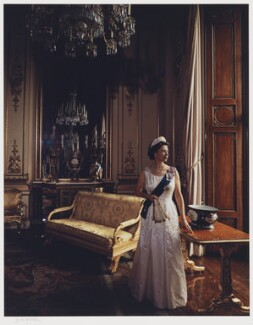 Queen Elizabeth II, by Yousuf Karsh - NPG P338