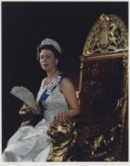 Queen Elizabeth II, by Yousuf Karsh - NPG P340