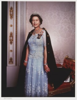Queen Elizabeth II, by Yousuf Karsh - NPG P341
