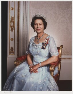 Queen Elizabeth II, by Yousuf Karsh - NPG P342