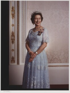 Queen Elizabeth II, by Yousuf Karsh - NPG P348