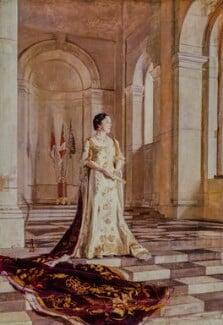 Queen Elizabeth, the Queen Mother, by Sir Gerald Kelly - NPG 5287