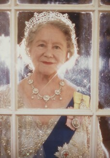 Queen Elizabeth, the Queen Mother, by Norman Parkinson - NPG P199