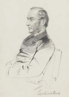 William Buller Fullerton Elphinstone, 15th Lord Elphinstone, by Frederick Sargent - NPG 5647