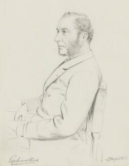 William Buller Fullerton Elphinstone, 15th Lord Elphinstone, by Frederick Sargent - NPG 5648
