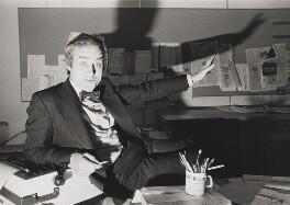 Sir Harold Evans, by Norman Parkinson - NPG P173