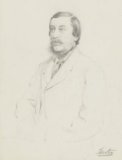 William Alleyne Cecil, 3rd Marquess of Exeter, by Frederick Sargent - NPG 5650