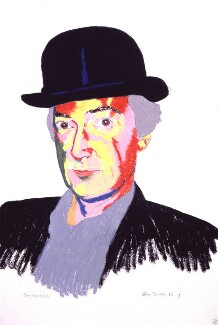 Barry Flanagan, by Clive Barker - NPG 5879