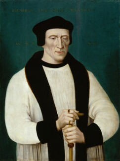 Richard Foxe, by Unknown English artist, early 19th century - NPG 5387 - © National Portrait Gallery, London