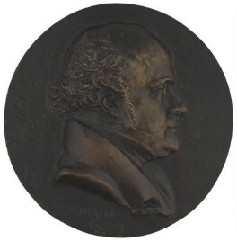 Sir John Franklin, by Pierre-Jean David D'Angers - NPG 5435