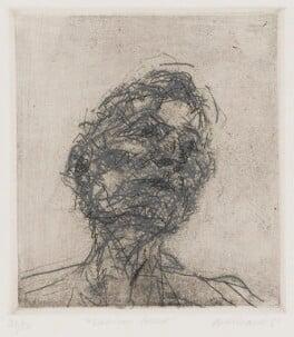 Lucian Freud, by Frank Auerbach, 1981 - NPG 5466 - © Frank Auerbach / Marlborough Fine Art (London) Ltd / National Portrait Gallery, London