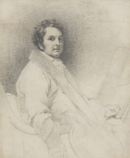 Joseph Michael Gandy, by Henry William Pickersgill - NPG 5701