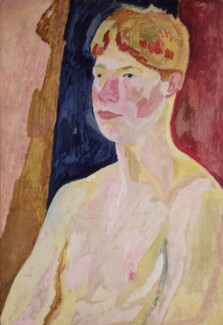 David Garnett, by Vanessa Bell - NPG 6046