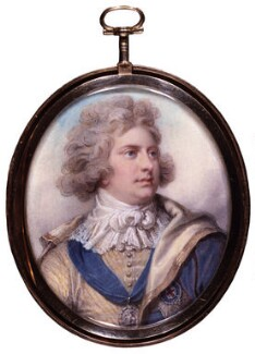 King George IV, by Richard Cosway, 1792 - NPG  - © National Portrait Gallery, London