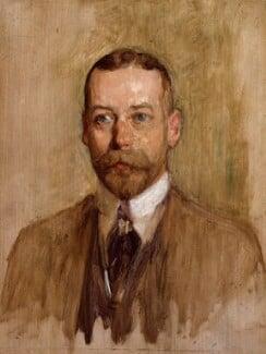 King George V, by Solomon Joseph Solomon, 1914 - NPG 5423 - © National Portrait Gallery, London