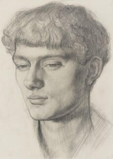 Mark Gertler, possibly by Dora Carrington - NPG 5431