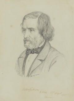 John Gibson, by Sir George Scharf - NPG 6050