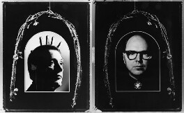 Gilbert & George, by Chris Garnham, 1986 - NPG P853 - © estate of Chris Garnham / National Portrait Gallery, London