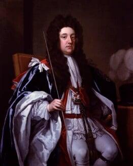 Sidney Godolphin, 1st Earl of Godolphin, by Sir Godfrey Kneller, Bt, circa 1705-1707 - NPG 5719 - © National Portrait Gallery, London