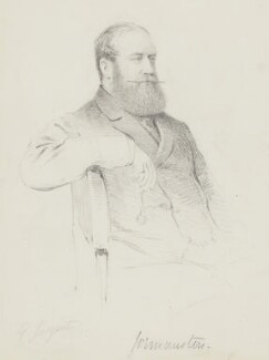 Jenico William Joseph Preston, 14th Viscount Gormanston, by Frederick Sargent - NPG 5652