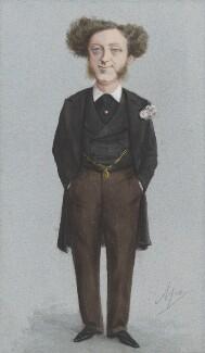 Albert Grant, Baron Grant (né Abraham Gottheimer), by Carlo Pellegrini - NPG 5548