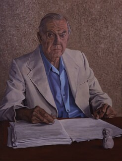 Graham Greene, by Anthony Palliser - NPG 5574