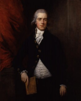 William Wyndham Grenville, 1st Baron Grenville, by Gainsborough Dupont - NPG 5715