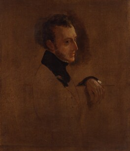 Charles Wood, 1st Viscount Halifax, by Sir George Hayter - NPG 5580
