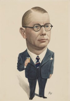 Unknown man called Henry Hall, by L.E. Ray - NPG 5697