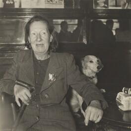 Nina Hamnett, by Daniel Farson, 1952 - NPG  - © Michael Parkin / National Portrait Gallery, London