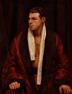 Len Harvey, by Thomas Burke - NPG 6832