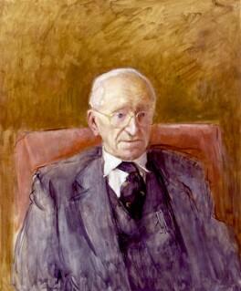 Friedrich August von Hayek, by Rodrigo Moynihan - NPG 5551