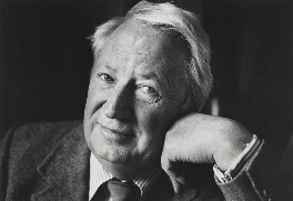 Sir Edward Heath, by Jane Bown - NPG P377