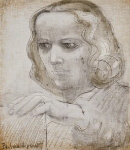 Barbara Hepworth, by Barbara Hepworth, 1950 - NPG  - © Bowness, Hepworth estate