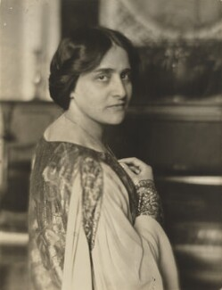 Dame Myra Hess, by Alice Boughton - NPG P207