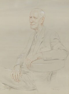 Christopher Hinton, Baron Hinton of Bankside, by June Mendoza - NPG 5691