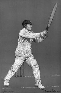 George Herbert Hirst, by Albert Chevallier Tayler, after a photograph by  George William Beldam - NPG 5956