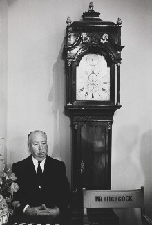 Alfred Hitchcock, by Bob Willoughby - NPG P138