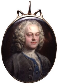 William Hogarth, attributed to Jean André Rouquet, circa 1740-1745 - NPG  - © National Portrait Gallery, London