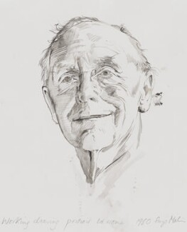 Alec Douglas-Home, by Suzi Malin, 1980 - NPG  - © National Portrait Gallery, London