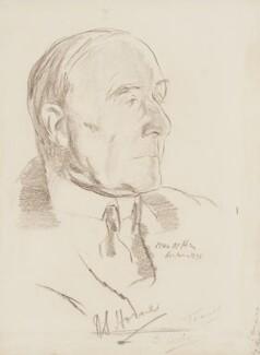 Robert Stevenson Horne, Viscount Horne of Slamannan, by Ivan Opffer - NPG 5443