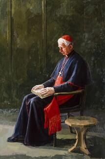 Basil Hume, by Jeff Stultiens - NPG 5930
