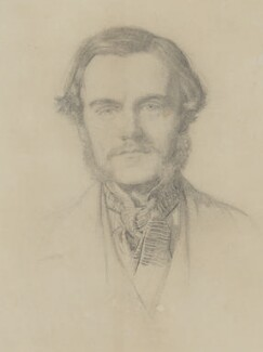William Holman Hunt, by Sir John Everett Millais, 1st Bt - NPG 5834