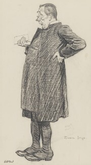 William Ralph Inge, by Sir David Low, published in The Graphic 19 March 1927 - NPG 5858 - © Solo Syndication Ltd