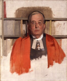 Montague Rhodes James, by Sir Gerald Kelly, circa 1936 - NPG 5285 - © reserved; collection National Portrait Gallery, London