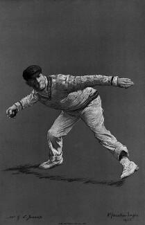 Gilbert Laird Jessop, by Albert Chevallier Tayler, after a photograph by  George William Beldam - NPG 5958